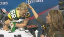 Access Hollywood's Maria Menounos Wants To Run Her Hand Through Clay Matthews' Hair (Video)