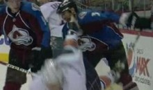Avs' Ryan O'Byrne Takes A Taylor Hall Skate To The Face (Video)