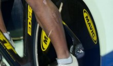 Cyclist Azizulhasni Awang Crosses The Finish Line With 8-Inch Splinter Through His Leg (Pics)