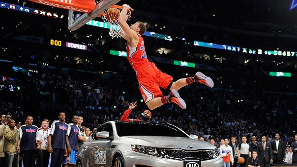 Blake Griffin Dunk's Over Car to Win Slam Dunk Competition ...
