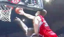 Blake Griffin Hits His Head On The Backboard (Video)