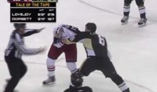 Frozen Fisticuffs Fight Of The Night — Dorsett vs. Lovejoy — 2/8/11
