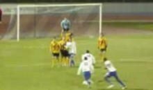 Free Kick FAIL! (Video)