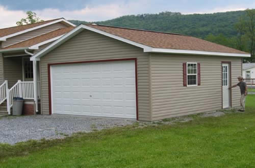Exterior Garage Style And Design Concepts.