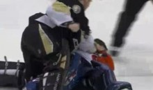 Goalie Fight! Pens' Brent Johnson KO's Isles' Rick DiPietro (Video)