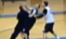 Holy Family University Coach Hits, Kicks Player During Practice (Video)