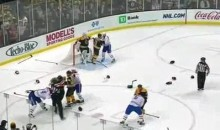 Line Brawls, Goalie Fight Highlight Heated Affair Between Bruins And Habs (Videos)