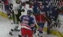 Pens' Jordan Staal Sucker Punches Rangers' Brandon Prust (Video)