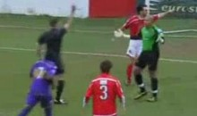 Soccer Keeper Sent Off 10 Seconds Into Game…That Has To Be Some Sort Of Record (Video)