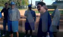 Some Words Of Wisdom From Charlie Sheen To The UCLA Baseball Team (Video)