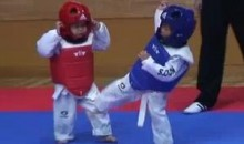 The Cutest Taekwondo Match Ever (Video)