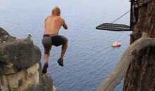 Rope Swinging Looks Like Fun (Video)