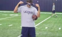 UConn's Johnny McEntee Is One Heck Of A Trick-Shot Quarterback (Video)