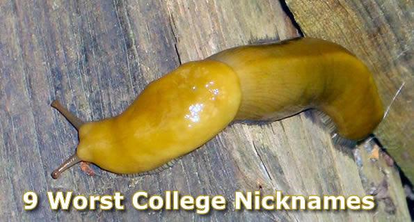 9 Worst College Nicknames