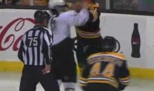Frozen Fisticuffs Fight Of The Night – Stars vs. Bruins – 2/2/11