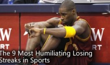 The 9 Most Humiliating Losing Streaks in Sports
