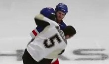 Frozen Fisticuffs Fight Of The Night — Engelland vs. Prust — 2/1/11