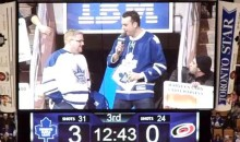 "Leaf Fan's Trivia Answer: ""I'm Gonna Go With C, Fire Wilson"" (Video)"