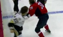 Frozen Fisticuffs Fight Of The Night — Wallace vs. Steckel — 2/6/11