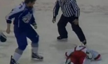 Big Time Knockout During An OHL Fight (Video)