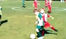 Check Out This Punch To The Face During A Kids Soccer Match (Video)