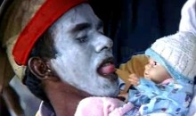 Creepy Cricket Fan Performs Voodoo On Baby (Video)