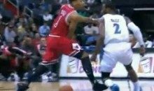Derrick Rose Delivers A Sweet Through-The-Legs Dime (Video)