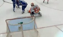 Leafs' Mikhail Grabovski Scores With His Face (Video)