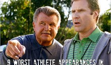 9 Worst TV/Movie Appearances By Athletes