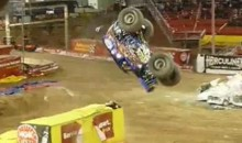 Son-Uva Digger Pulls Off A Monster Truck Back-Flip (Video)