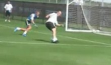 Zinedine Zidane's Still Got It! (Video)
