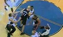 Zydrunas Ilgauskas And John Wall Exchange Elbows (Video)