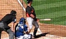 Check Out Aaron Rowand's Interesting New Batting Stance (Video)