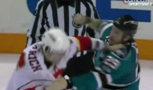 Frozen Fisticuffs Fight Of The Night — Clowe vs. Sarich — 3/23/11