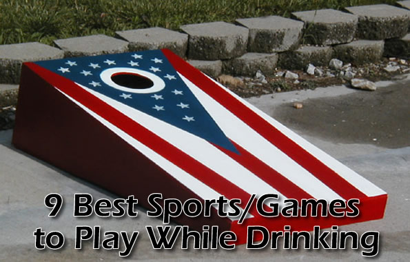 Best sports games to play while drinking