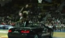 Is Guy Dupuy's Car-Dunk More Impressive Than Blake Griffin's? (Video)