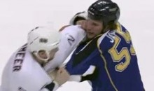 Frozen Fisticuffs Fight Of The Night — Janssen vs. Vandermeer — 3/24/11