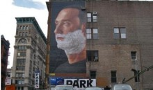 Gillette's Innovative Billboard Gives Derek Jeter A Fresh Shave (Pics + Time-Lapse Video)