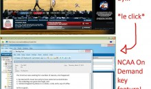 NCAA March Madness On Demand Is Bad For Workplace Productivity (Pic)