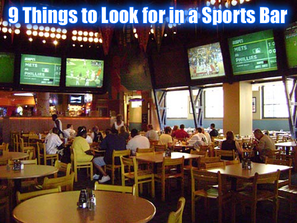 Things to look for in a sports bar total pro