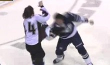 Frozen Fisticuffs Fight Of The Night — Tootoo vs. Wilson — 3/13/11