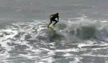 Zoltan Torkos Performs The First Ever Kickflip On A Surfboard (Video)