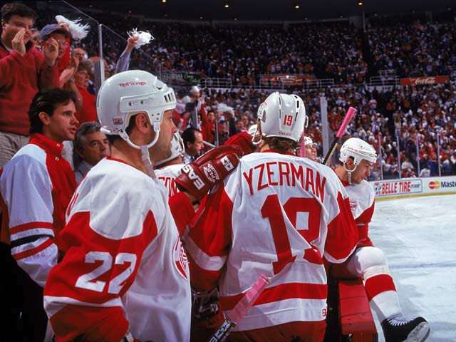 Detroit Red Wings 62 wins