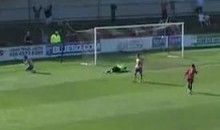 Here Is An Own Goal That Was Scored With Authority (Video)