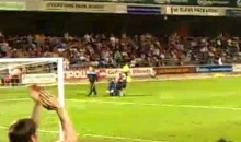 Here's Another Wheelchair Pitch Invasion (Video)