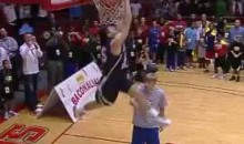 Jacob Tucker's 50-Inch Vertical Won Him The NCAA Dunk Contest (Video)