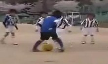 """Japanese Messi Boy"" Is Amazing! (Video)"