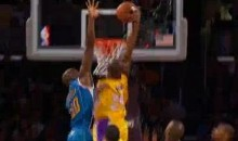 Kobe Bryant Posterized Emeka Okafor Last Night (Video)