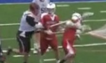 Lax Player Delivers Vicious Two-Handed Slash To Opponent's Head (Video)