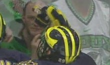 Michigan Wolverine Player Gives North Dokota Fan The Finger (Video)